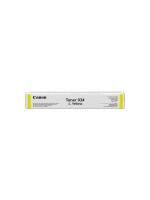 Canon CART034 Yellow Toner