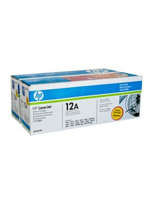 HP #12A Twin Pack Q2612AD