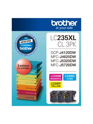 Brother LC235XL CMY Colour Pack