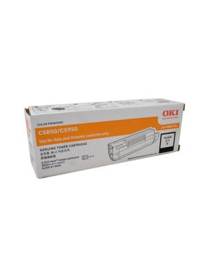 Oki 5850/C5950/MC560 Genuine Black Toner Cartridge 8,000 pages (43865728)