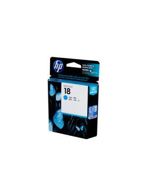 HP #18 Cyan Ink Cartridge C4937A