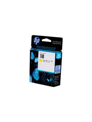 HP #18 Yellow Ink Cartridge C4939A