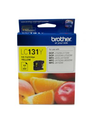 Brother LC131 Yellow Ink Cartridge