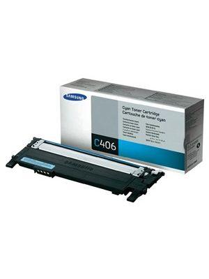 Samsung CLTC406S Cyan Toner