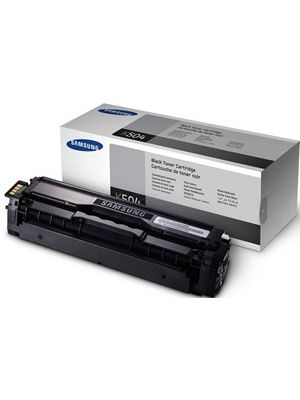 Samsung CLTK504S Black Toner Cartridge - SU160A