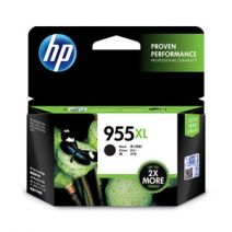 HP #955XL Genuine Black High Yield Ink Cartridge L0S72AA - up to 2,000 pages