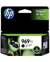HP 969XL Genuine Black High Yield Inkjet Cartridge 3JA85AA - 3,000 Pages