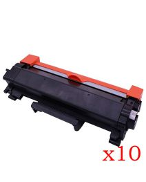 10 x Ecotech, Brother TN2450 Compatible Toner Cartridge - 3,000 pages