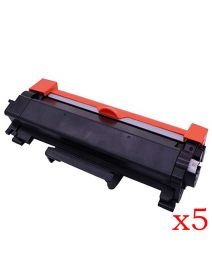 5 x Ecotech, Brother TN2450 Compatible Toner Cartridge - 3,000 pages
