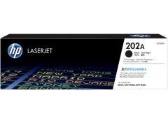 HP #202A Genuine Black Toner CF500A - 1,400 pages
