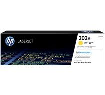 HP #202A Genuine Yellow Toner CF502A - 1,300 pages