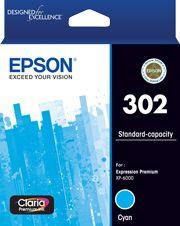 Epson 302 Genuine Cyan Ink Cartridge
