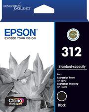 Epson 312 (C13T182192) Genuine Black Inkjet Cartridge