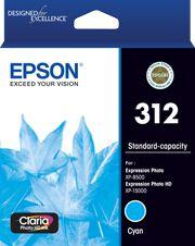 Epson 312 (C13T182292) Genuine Cyan Inkjet Cartridge