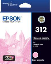 Epson 312 (C13T182692) Genuine Light Magenta Inkjet Cartridge