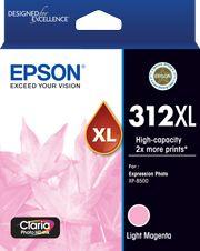 Epson 312XL (C13T183392) Genuine Magenta High Yield Inkjet Cartridge
