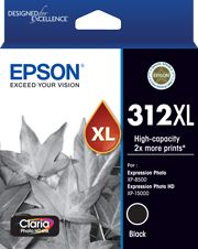 Epson 312XL (C13T183192) Genuine Black High Yield Inkjet Cartridge