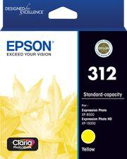 Epson 312 (C13T182492) Genuine Yellow Inkjet Cartridge