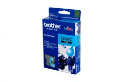 Brother LC38 Genuine Cyan Ink Cartridge - 260 pages
