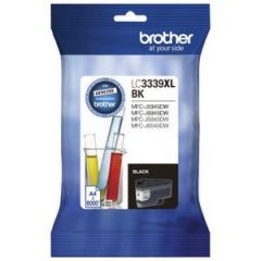 Brother LC-3339XLBK Genuine High Yield Black Ink Cartridge - 6,000 pages