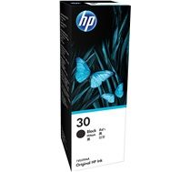 HP #30 Genuine Black Ink Bottle 1VU29AA (Replaced by HP 32XL)