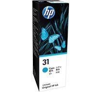 HP #31 Genuine Cyan Ink Bottle 1VU26AA