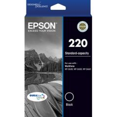 Epson 220 Genuine Black Ink Cartridge [C13T293192] - 160 pages