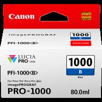 Canon PFI1000 Genuine Blue Ink Cartridge