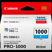 Canon PFI1000 Genuine Cyan Ink Cartridge