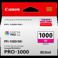 Canon PFI1000 Genuine  Magenta Ink Cartridge