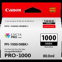 Canon PFI1000 Genuine Matt Black Ink Cartridge