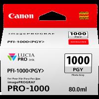 Canon PFI1000 Genuine Photo Grey Ink Cartridge