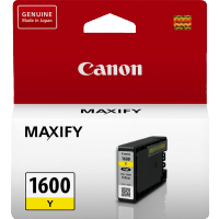 Canon PGI1600Y Genuine Yellow Ink Tank - 300 pages