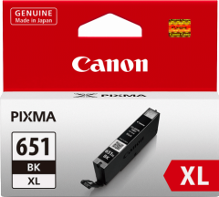 Canon CLI651XL Genuine Black Ink Cartridge - 5,530 A4 pages