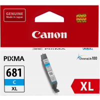 Canon CLI681XL Genuine Cyan Ink Cartridge - 515 pages
