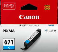 Canon CLI671 Genuine Cyan Ink Cartridge