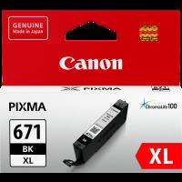 Canon CLI671XL Genuine Black Ink Cartridge
