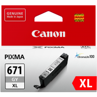Canon CLI671XL Genuine Grey Ink Cartridge