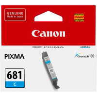Canon CLI681 Genuine Cyan Ink Cartridge - 250 pages