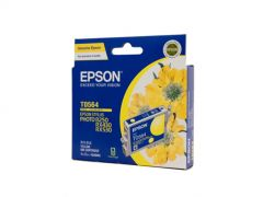 Epson T0564 Genuine Yellow Ink Cartridge - 290 pages