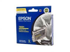 Epson T0591 Genuine Black Ink Cartridge - 450 pages