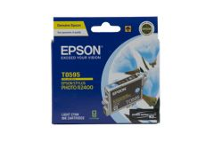 Epson T0595 Genuine Light Cyan Ink Cartridge - 450 pages