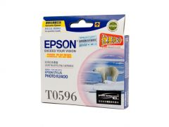 Epson T0596 Genuine Light Magenta Ink Cartridge - 450 pages