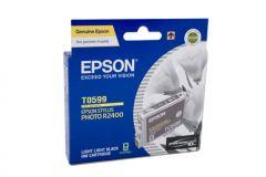 Epson T0599 Genuine Light Light Black Ink Cartridge - 450 pages