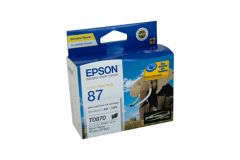 Epson T0870 Genuine Gloss Optimiser Ink - 3,615 pages