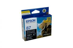 Epson T0871 Genuine Photo Black Ink - 5,630 pages