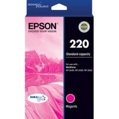 Epson 220 Genuine Magenta Ink Cartridge [C13T293392] - 165 pages