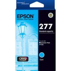 Epson 277 Genuine Cyan Ink Cartridge - 360 pages