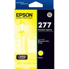 Epson 277 Genuine Yellow Ink Cartridge - 360 pages