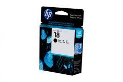 HP #18 Genuine Black Ink Cartridge C4936A - 850 pages
